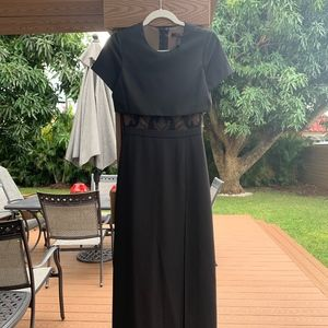 BCBG Black Slit Dress | Worn Once